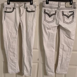 Miss Me white jeans